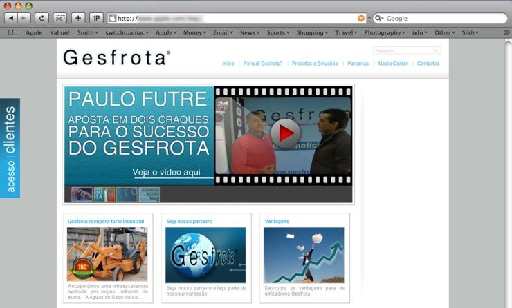 gesfrota website